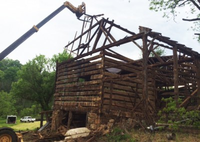 Reclaiming the Bill Miller Barn